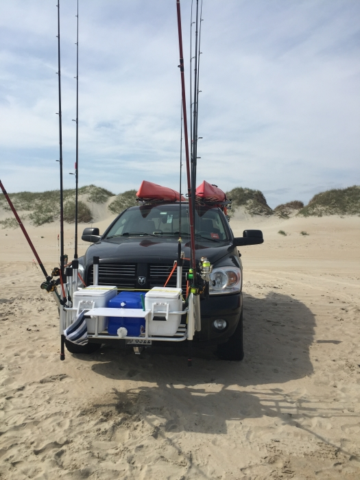 Fish n mate 692 surf mate 10 rod cooler rack for Surf fishing gear
