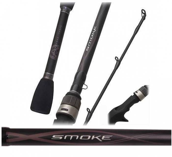 Quantum smoke inshore spinning rods tackledirect for Quantum fishing rods